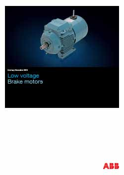 Brake Motors Catalogue