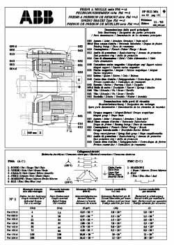 Brake Motors Instructions