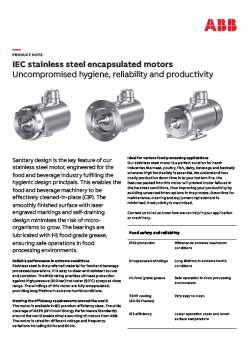 IEC Stainless Steel Encapsulated Motors