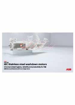 IEC Stainless Steel Washdown Motors