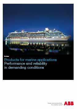 Marine Motors Applications
