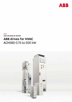 ACH580 Industry Specific Drive Catalogue
