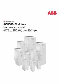 ACH580 Industry Specific Drive Hardware Manual