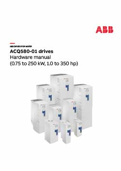 ACQ580-01 Industry Specific Drive Hardware Manual