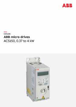 ACS150 Micro Drive Catalogue