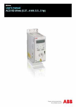 ACS150 Micro Drive Manual