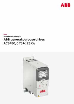 ACS480 General Purpose Drive Catalogue