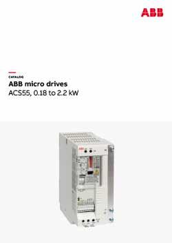 ACS55 Micro Drive Catalogue