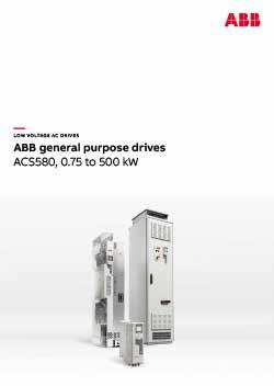 ACS580 General Purpose Drive Catalogue