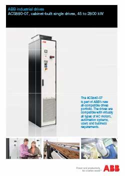 ACS880-07 Industrial Drives Flyer