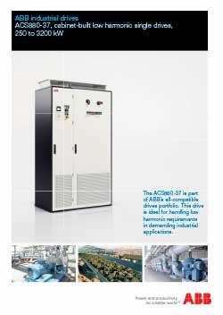 ACS880 37 Industrial Drives Flyer