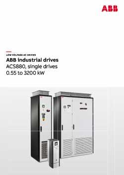 ACS880 Industrial Drives Catalogue
