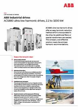 ACS880 Industrial Drives Flyer