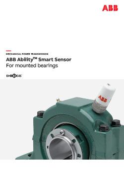 ABB Ability Smart Sensor for Mounted Bearings