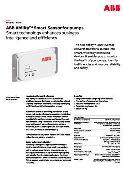 ABB Ability Smart Sensor for Pumps